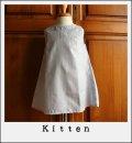 【kitten original】ハンドメイド・アップリケワンピース90cm